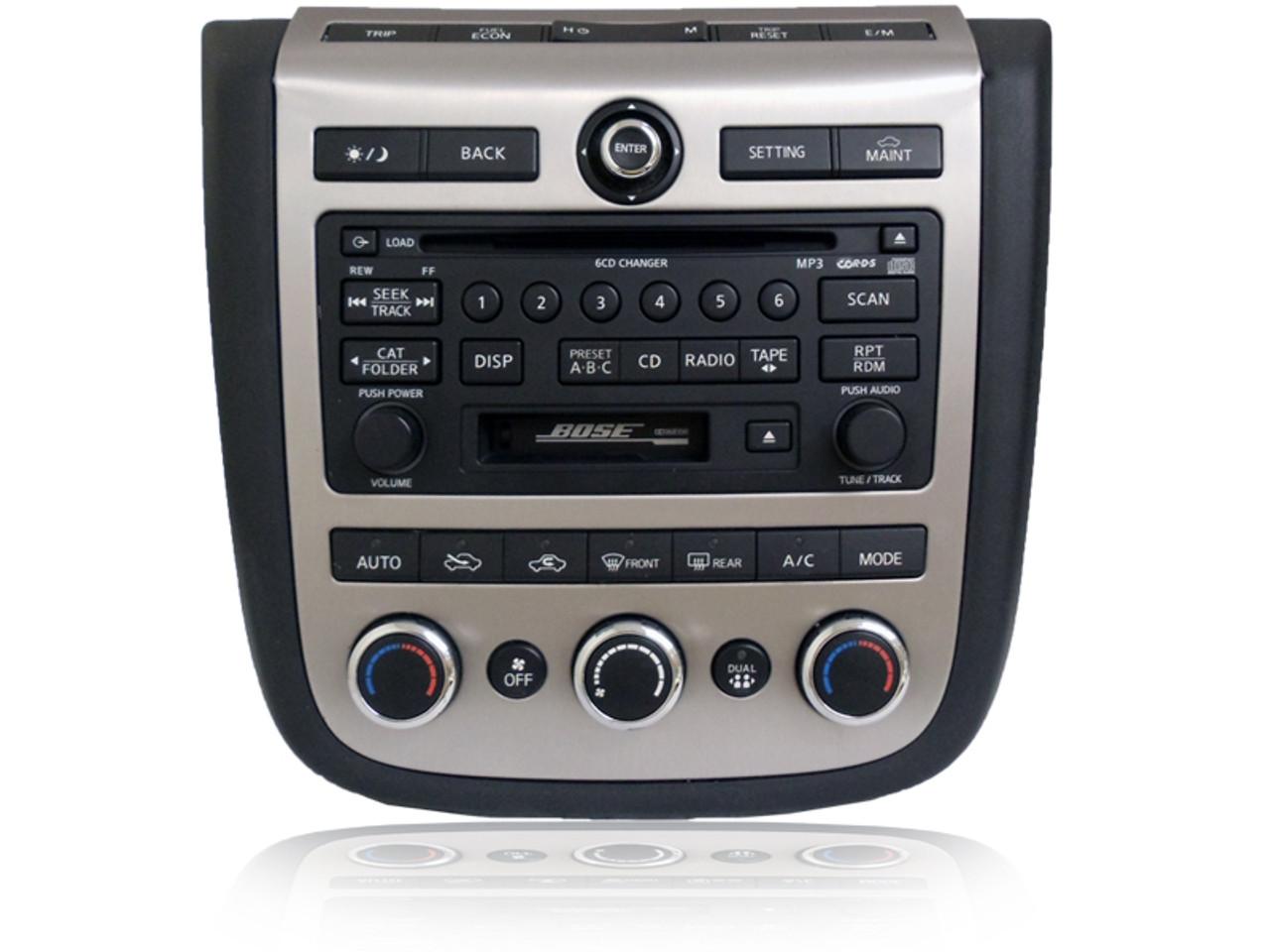 2006 2007 Nissan Murano Radio Tape Player 6 Disc Cd Changerrhcd4car: 2006 Nissan Murano Radio At Gmaili.net