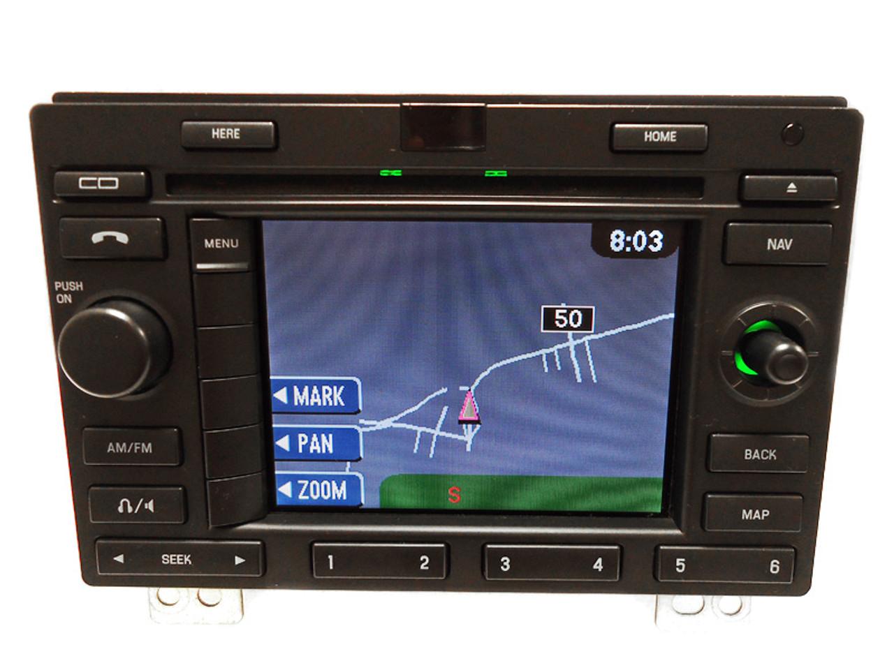 Ford Expedition Navigation Gps Radio Stereo Cd Player Lcd Display Rhcd4car: 2003 Ford Expedition Navigation Radio At Gmaili.net