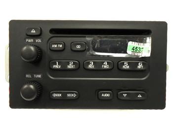 GMC CHEVROLET Savana Express 1500 2500 3500 Radio Stereo CD Player 2000 2001 2002 15074532