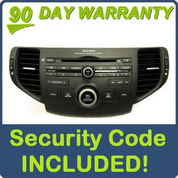 Acura Bluetooth Radio CD Player XM MP3 Premium Audio 1XA3