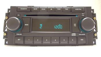 2004 - 2008 Chrysler Jeep Dodge OEM Radio CD Player Receiver REF