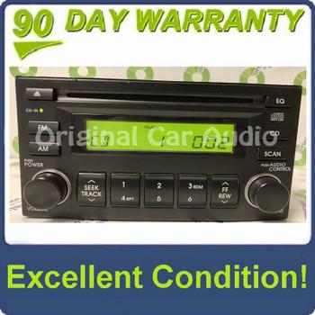 2005 - 2010 Hyundai Kia OEM AM FM Radio Stereo CD Player Receiver Black