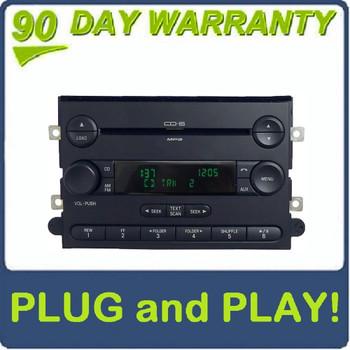 2007 2008 2009 2010 2011 2012 2013 Ford OEM AM FM Radio Subwoofer MP3 6 Disc CD Changer Receiver