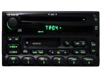 1998 - 2005 Ford  Lincoln  Mercury OEM AM FM  Radio CD Player Receiver