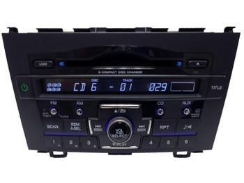 NEW HONDA CRV CR-V Radio Stereo 6 Disc Changer CD Player 1XN4 MP3 2007 2008 2009 2010 2011