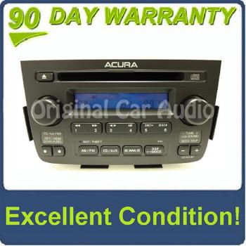 ACURA MDX Radio Stereo CD Player XM 2PF3 2005 2006 w/ CODE