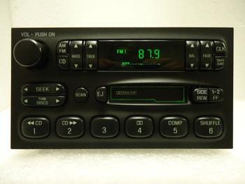 Mercury Villager Nissan Quest Radio Tape Player XF5F-19B132-AC 1999 01 2000 2002