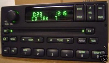 1998 - 2005 Ford / Lincoln /Mercury  Radio CD player