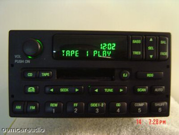 1998 - 2005 Ford / Lincoln/ Mercury  Radio Tape Player