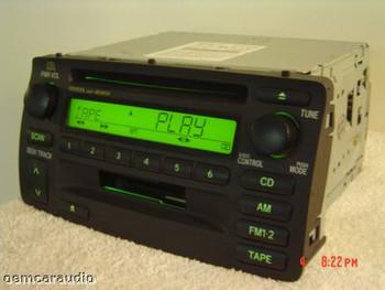 Toyota Corolla Radio Tape CD Player 2003 2004 2005 2006 2007 2008 86120-02280
