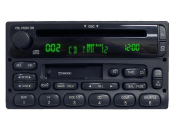 REPAIR YOUR RADIO 98 99 2000 01 02 03 04 05 Ford Lincoln Mercury RDS Radio CD player Fo102