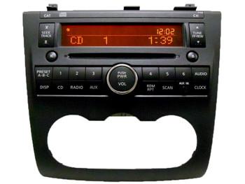 07 - 08 Nissan Altima Radio AUX Input and CD player Ni134 2007 2008