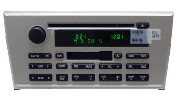 2003 - 2006 Lincoln LS OEM Tape Cassette Radio CD Player Receiver
