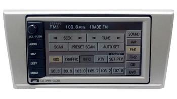 2003 - 2005 Lincoln LS OEM Radio Navigation 6 DISC CD Player Receiver