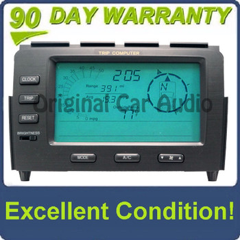 04 05 06 2005 2006 Acura MDX Trip Computer Display Screen LCD Ac156