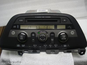 05 06 07 08 Honda Odyssey AM FM 6 CD XM Radio 1XU0 39100-SHJ-A300 Ho1XU0