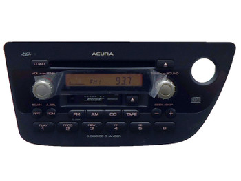 New ACURA RSX Radio 6 Disc CD Changer Tape Player BOSE OEM 1TJ3 2002 2003 2004 2005 2006 39100-S6M-A600 1TJ3