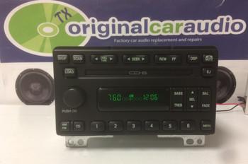 2001 - 2005 Ford Explorer Lincoln Navigator  Radio and 6 CD Changer