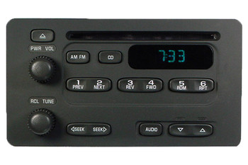 GMC Chevrolet Radio Stereo CD Player Receiver AM FM OEM