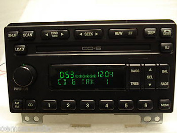 2004 2005 2006 Ford Expedition Radio and 6 Disc CD Changer 04 05 06