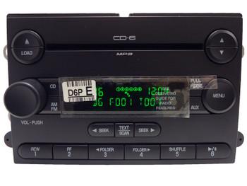 2006 - 2013 Ford F250 F350 SUPERDUTY Radio 6 Disc CD Changer OEM