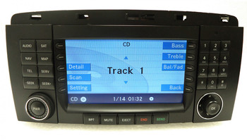 Merged with Be128 MERCEDES-BENZ Navigation GPS Command Radio Stereo Head Unit LCD Display Screen Monitor RK4630 R-Class 251 Type R63 R350 R500 2006 2007