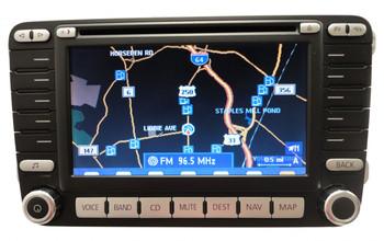 VW VOLKSWAGEN Navigation GPS System Radio Stereo LCD Display Screen CD Player EOS GOLF GTI JETTA PASSAT RABBIT 2006 2007 2008 2009 OEM 1K0 035 197 D 1K0035197D