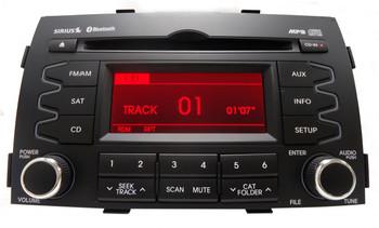 Kia OEM Satellite Radio CD Player MP3 Player 6 CD Changer