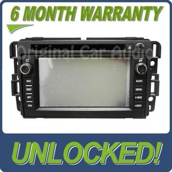 Unlocked GMC Navigation GPS Radio LCD Display Screen OEM