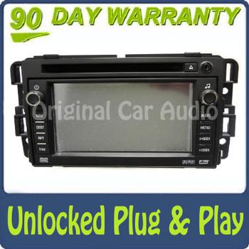 2007 2008 2009 Unlocked GMC CHEVROLET Navigation AM FM Radio GPS MP3 CD Player