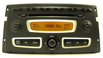 SMART Fortwo Radio Stereo Receiver 6 Disc Changer MP3 CD Player OEM A 451 820 3779 2008 2009 2010