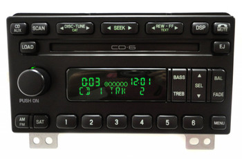 2004 - 2006 FORD Mustang Explorer Expedition Mountaineer OEM Satellite SIRIUS XM AM MF Radio Stereo 6 Disc CD Player Receiver