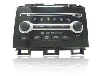 2009 2010 Nissan MAXIMA OEM AM FM Radio AUX MP3 Stereo 6 Disc CD Changer Receiver CY28D