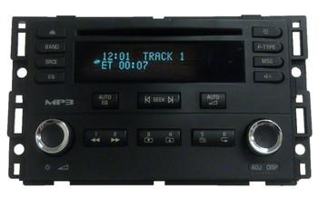 Pontiac Chevrolet Chevy Radio MP3 CD Disc Player Stereo