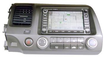 06 - 09 Honda CIVIC XM Satellite Radio NAVIGATION GPS Disc CD Changer 2AC8