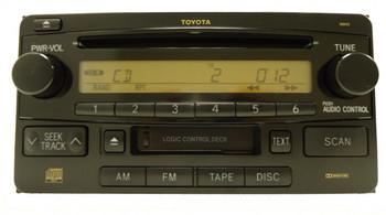 Toyota Radio CD Cassette Tape Player 16843 2003 2004 2005 2006 2007 2008 2009