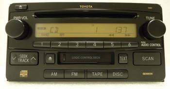03 04 05 06 07 08 09 10 11 Toyota OEM Radio CD Cassette Tape Cassette Deck Player 16850