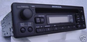 Honda Accord S2000 Del Sol Radio and CD Player 1998-2005