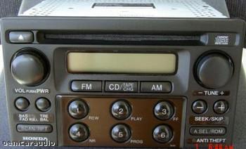 Honda Radio And CD Player Civic Odyssey Prelude 1998-2005