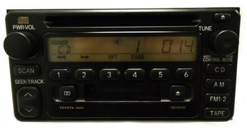 BRAND NEW TOYOTA Radio Stereo CD Tape Cassette Player A56818 Celica Echo Highlander MR2 Rav4 2000 2001 2002 2003