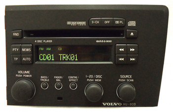 VOLVO Radio Stereo 4 Disc Changer CD Player HU-803 OEM
