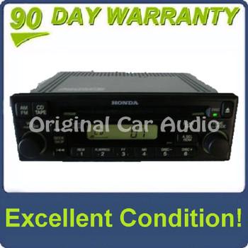 Honda Del Sol Prelude Used Radio and CD Player 1998-2005