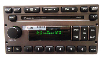 NEW 1998- 2012 Ford Explorer Expedition F150 Radio and 6 CD Changer