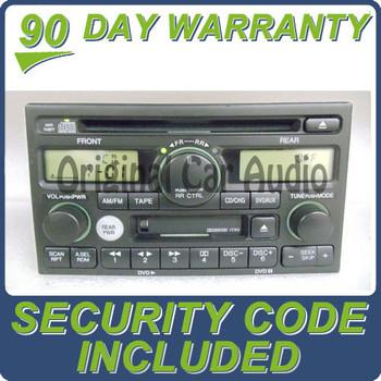 02 03 04 Honda Odyssey CD Player with DVD Option