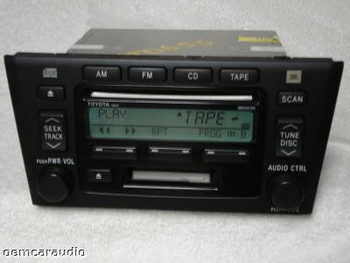 2000 2001 2002 2003 2004 Toyota AVALON JBL Radio Tape CD Player 00 01 02 03 04 16824 86120-AC091