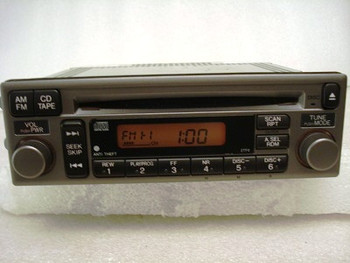 2002 - 2003 Honda S2000 Radio and  CD Player