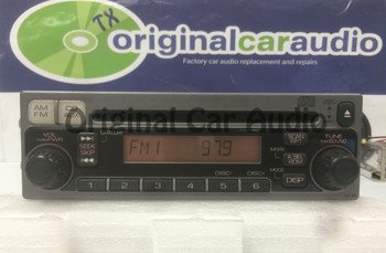 2004 - 2005 Honda S2000 Radio and  CD Player