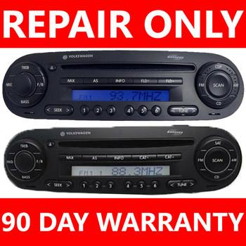 Repair YOUR Radio! Volkswagen VW BEETLE BUG Single CD Disc Player Changer FIX 1998 1999 2000 2001 2002 2003 2004 2005 2006 2007 2008 2009 2010 98 99 00 01 02 03 04 05 06 07 08 09 10