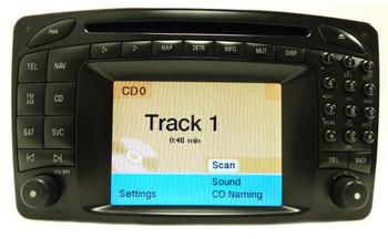 2002 - 2006 MERCEDES-BENZ C230 C240 C320 C32 C55 CLK320 CLK500 CLK55 C280 C350 OEM Command Navigation GPS Radio CD Player LCD Display Screen Monitor BOSCH