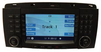 2006 2007 MERCEDES-BENZ R Class Comand Navigation GPS Radio Stereo CD Player LCD DIsplay Screen Monitor OEM R350 R500 R320 R63